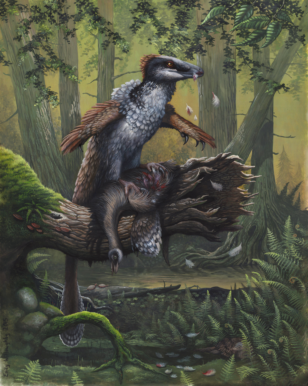 Dakotaraptor's Ornithomimus Dinner
