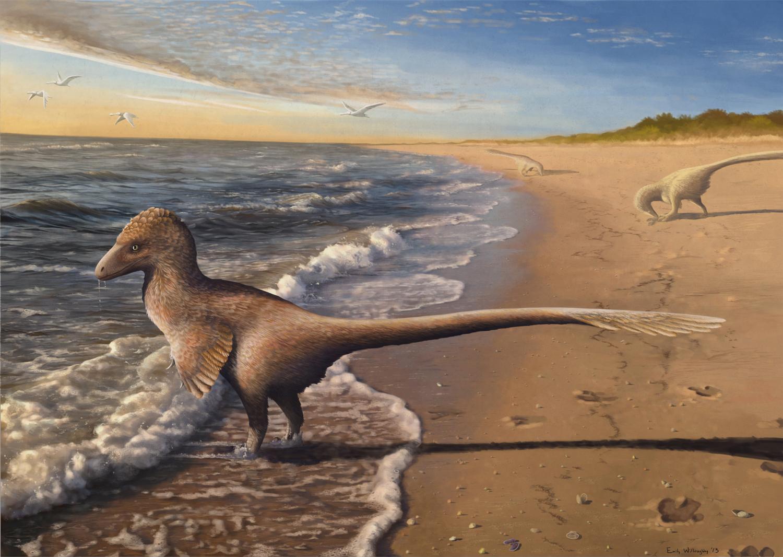 Utahraptor at Dawn